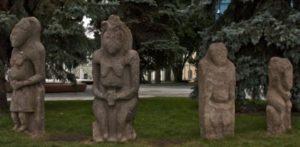Кам'яні статуї кочівників