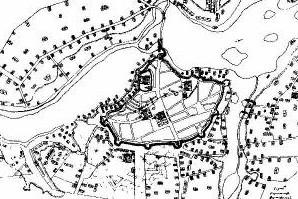 План укріплень міста Глухів