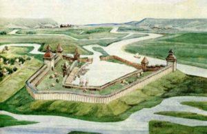 Реконструкція фортеці міста Воїнь