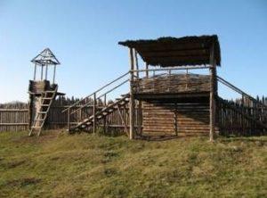 Реконструкція укріплень на Більському городищі