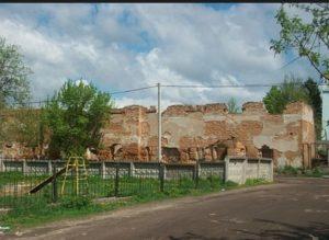 Руїни тюремного замку у Глухові