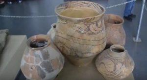 Трипольские сосуды, найденные в Одесской области