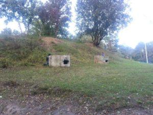 Доти на городищі літописного Звенигорода у селі Віта-Поштова