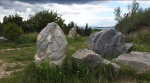 Каміння на Іван-горі у Ржищеві
