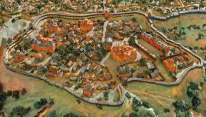 Панорама давнього Києва