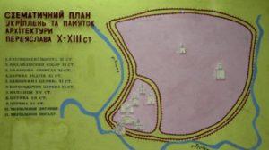 План укріплень Переяслава