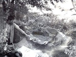 Радянське фото розкопок на Херсонщині