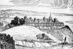 Реконструкція давньоруського городища