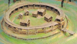 Реконструкція городища у селі Головурів