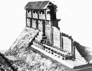 Реконструкція валу літописного Білгорода
