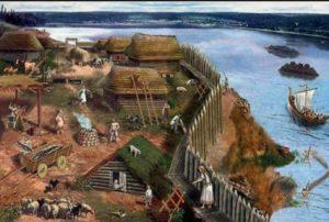 Реконструкція життя на давньоруському городищі