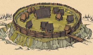 Реконструкція слов'янського городища