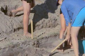 Робота в розкопі