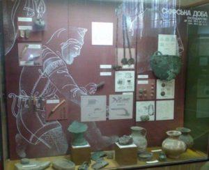 Скифская витрина в Харьковском историческом музее