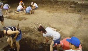 Студенти на розкопках