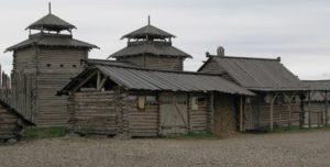 Сучасне відтворення стародавнього городища