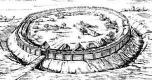 Типове слов'янське городище