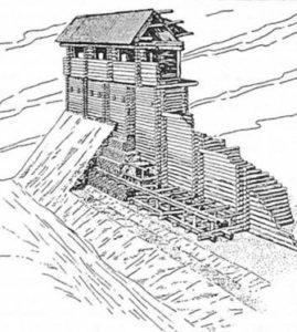 Вал давньоруського городища