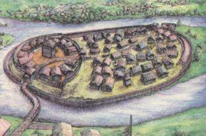 Вигляд давньоруського городища