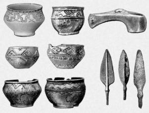 Археологические находки срубной культуры