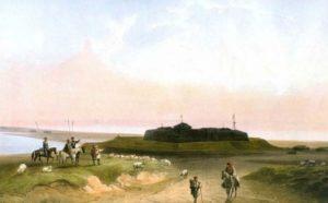 Форт Арабат - картина Карло Боссолі