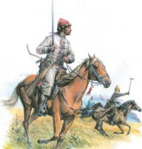 Хазарские воины