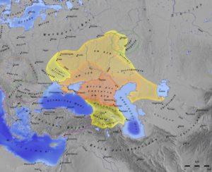 Хазарский каганат - салтовская культура