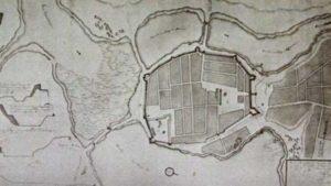 План крепости горда Коломак, 18 век