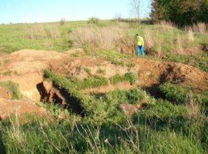 Раскопки в Верхнем Салтове