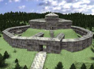 Реконструкция городища