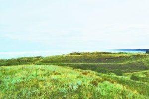 Скіфське городище на Дніпрі у селі Червоний Маяк