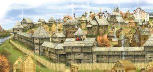 Жизнь в древнерусском городе