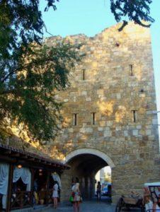 Крепостные ворота Гезлева в Евпатории