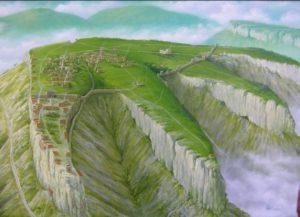 Реконструкция крепости Мангуп