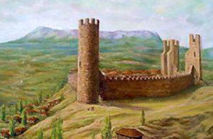Реконструкция крепости в Алуште