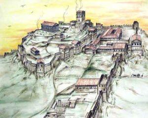 Реконструкция застройки на горе Митридат