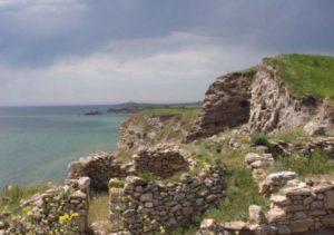 Руины на городище Китей