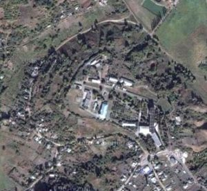 Цитадель городища в Хорошево