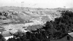 Вид на Неаполь Скифский в 1945 году