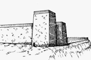 Башня Булганакского городища