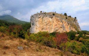 Крепость в Краснокаменке