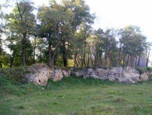 Мури замку у місті Бар