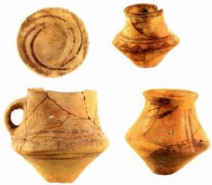 Посуд трипільської культури