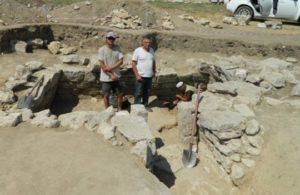 Раскопки городища Джан-Оба