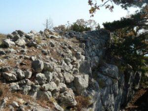 Крепость в Алупке