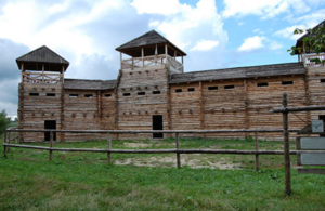 Стіни городища