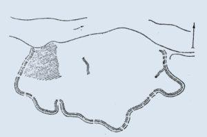 План Трахтемирівського городища