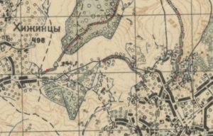 План городища у Журжинцях
