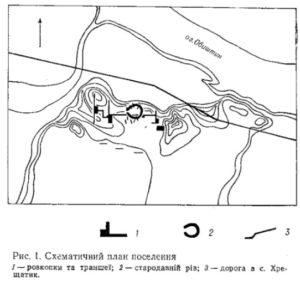 Поселення у селі Хрещатик