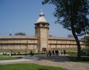 Реконструкція батуринської фортеці